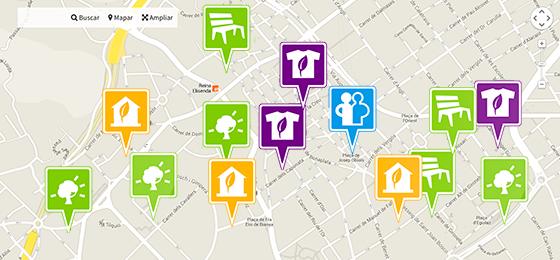 Presentació Mapa Barcelona + Sostenible Dimecres 18 de juny de 2014