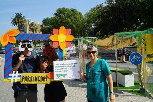 Èxit de participació al Park(ing) day!